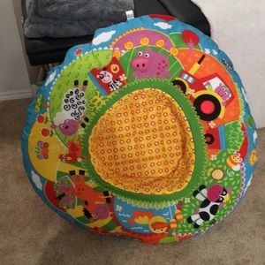 Washable cover, smoke free home, seat for babies